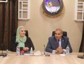 وزيرة التضامن توافق على صرف 350 جهاز حاسب آلى ناطق لأصحاب البصيرة بجامعة الأزهر