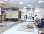 رئيس أركان حرب القوات المسلحة يتفقد الحالة الأمنية بشمال سيناء.. صور