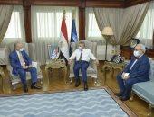 الفريق أسامة ربيع يلتقى السفير اليونانى لبحث سبل التعاون المشترك .. صور