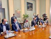 وزير الخارجية يجرى مشاورات مع مستشار الأمن القومى الأمريكى فى مقر الوزارة