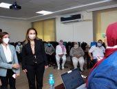 نائب محافظ الإسكندرية ونائب وزير الاتصالات يتفقدان مركز الإسكندرية للتدريب ATC