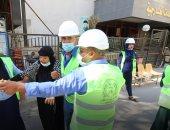 محاكاة لمكافحة حريق والإخلاء الآمن للمرضى بمبنى مركز طب وجراحة العيون بجامعة المنصورة