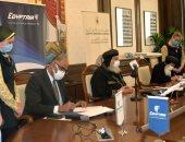 مصر للطيران توقع بروتوكول تعاون مع الكنيسة القبطية الأرثوذكسية