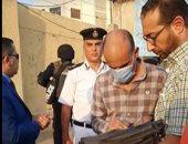 فيديو .. محكمة الجنايات تجرى معاينة تصويرية لموقع ضبط كمية مخدرات بحوزة صاحب كشك