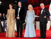 الأمير تشارلز يحتفي بفيلم جيمس بوند من الكواليس والسجادة الحمراء.. فيديو