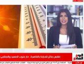 فيديو.. الأرصاد تحذر من تشغيل المراوح والتكييفات وتكشف تفاصيل حالة الطقس