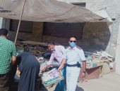 مجلس مدينة زفتى بالغربية يشن حملة لإزالة الإشغالات من الشوارع ..صور