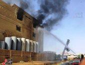 الحماية المدنية بالقليوبية تسيطر على حريق بعقار في الخانكة دون خسائر بالأرواح