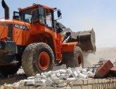 محافظ بنى سويف: إزالة 570 حالة تعد على أملاك الدولة وأراضى زراعية