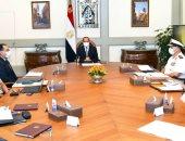 الرئيس السيسى يوجه بتنفيذ المشروعات المتصلة بحماية الشواطئ وفق أعلى المعايير