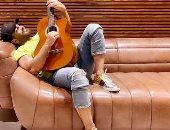 """تامر حسني يشوق جمهوره بعمل جديد: """"فى لحن مش طبيعى بيحصل وهسميه يا فرحة"""""""