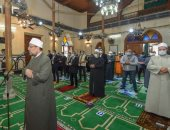 وزير الأوقاف يؤدى صلاة الجمعة بمسجد البوصيرى بالإسكندرية