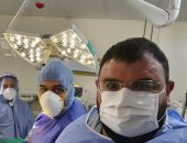نجاح عملية قيصرية لسيدة مصابة بفيروس كورونا بمستشفى بلقاس المركزى