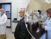 المعمل المركزى للمياه الجوفية بالوادى الجديد.. أيقونة وزارة الرى وثمرة جهود الحكومة فى تقنيات تحليل المياه.. احتكر الأيزو منذ 8 سنوات.. ويقدم خدماته فى تحليل المياه كيميائيا وبكتريولوجيا بأسعار رمزية.. صور