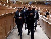 رئيس الوزراء يصطحب نظيره الأردنى فى جولة بعدد من مشروعات العاصمة الإدارية الجديدة
