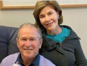 الرئيس الأمريكي الأسبق جورج بوش يعلن استقباله حفيدته الجديدة