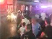 بث مباشر.. السيطرة على حريق في مول ملابس شهير بالبحيرة