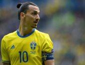 استبعاد إبراهيموفيتش من قائمة منتخب السويد للإصابة