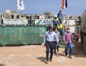 """نائب وزير الإسكان يتفقد مشروع تطوير """"منطقة سور مجرى العيون"""""""