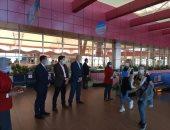 """مطار شرم الشيخ يستقبل أولى رحلات شركة """"Aeroflot Airlines'' القادمة من روسيا"""