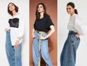 الجينز الواسع يتصدر اتجاهات الموضة.. اعرفي إزاي تلبسيه على طريقة ديبيكا بادوكوني