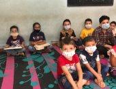 إقبال الأطفال لحفظ وتلاوة القرآن داخل أحد أقدم الكتاتيب فى الغربية.. لايف وصور