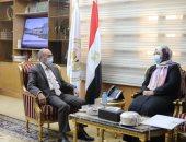 وزير العدل يتلقى التهنئة من نظيرته الليبية بمناسبة يوم القضاء المصري