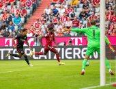 بايرن ميونخ يتعادل مع أينتراخت فرانكفورت 1-1 فى الشوط الأول بالبوندزليجا