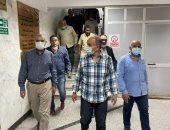 تفاصيل السيطرة على حريق محدود بمبنى مستشفى الباطنة بجامعة الزقازيق.. صور