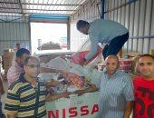 التحفظ على 17 طن لحوم ومنتجات غير صالحة للاستهلاك الآدمى بالإسكندرية