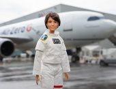 إرسال دمية فى رحلة منعدمة الجاذبية لتشجيع الفتيات على احتراف علوم الفضاء.. صور