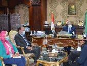 محافظ المنيا: الدولة تعمل بخطى سريعة على تنمية صعيد مصر