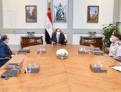 الرئيس السيسي يتابع الموقف التنفيذي لعدد من مشروعات الهيئة الهندسية
