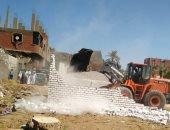 محافظ بنى سويف: إزالة 220 حالة تعد على أراضى أملاك الدولة