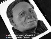 قارئ يشارك بعدد من الصور تبرز موهبته فى الرسم.. وصورة مميزة للفنان عادل إمام