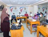 جامعة سوهاج تنظم دورة تدريبية لتأهيل العاملين بالمكتبات