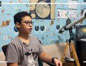 """العبقرى الصغير.. يس طالب اخترع تطبيقات للفضاء وتم تكريمه من ناسا """"فيديو"""""""