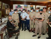 القوات المسلحة تنظم معرضاً لإبداعات المحاربين القدماء بمناسبة الاحتفال بنصر أكتوبر