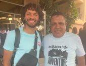 محمد النني ينضم لمعسكر المنتخب في الإسكندرية