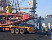 """ميناء الأدبية يستقبل أكبر """"ونش"""" فى العالم بحمولة 1200 طن.. صور"""