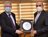 """وزير الطيران المدني يلتقى أمين عام منظمة """"الإيكاو"""""""