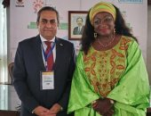 نائب وزير الإسكان للمشروعات القومية يلتقي وزيرة الإسكان الكاميرونية