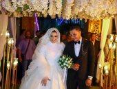 """محسن البديوى يحتفل بزفافه على """"علا كمال"""".. و""""اليوم السابع"""" يهنئ العروسين.. صور"""