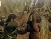 """براعة جدة هندية تمارس رياضة """"كالارى"""" للدفاع عن النفس.. فيديو"""