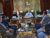محافظ المنيا يعلن تشكيل لجنة لحصر كافة التعديات على المجارى المائية