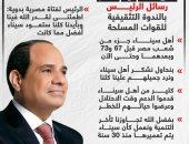 رسائل الرئيس السيسى بالندوة التثقيفية للقوات المسلحة.. إنفوجراف