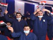 الداخلية تفرج عن 3886 سجينا بمناسبة احتفالات أكتوبر تنفيذا لقرار الرئيس