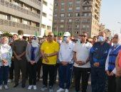 مسيرة رياضية بشبين الكوم احتفالاً بذكرى انتصارات أكتوبر المجيدة