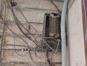 قارئ بالإسكندرية يناشد تجديد بوكس التليفونات لتحسين الخدمة.. ورئيس الحى يرد
