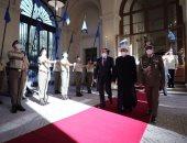 الرئيس الإيطالى يستقبل شيخ الأزهر ويشيد بلقاءات الإمام الأكبر وبابا الفاتيكان